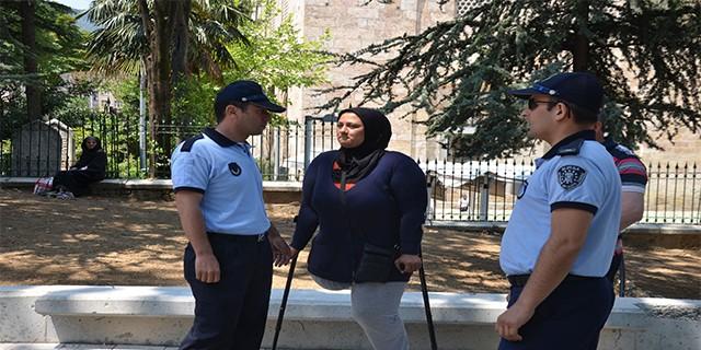 Bursa'da dilenci operasyonu