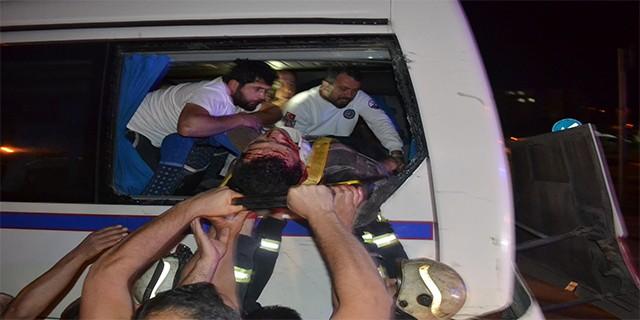 Bursa'da feci kaza yaralılar var