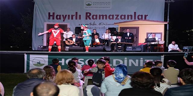 Bursa'da Temaşa-i ramazan coşkusu