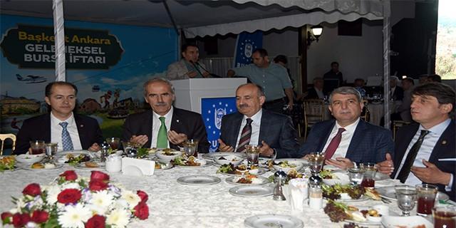 Başkent'te coşkulu Bursa iftarı