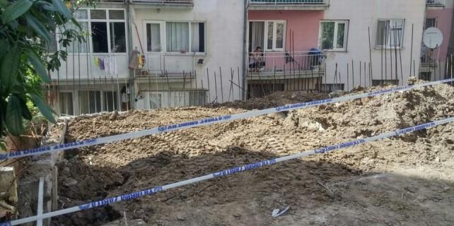 Bursa'da göçük...Deprem oluyor zannettiler