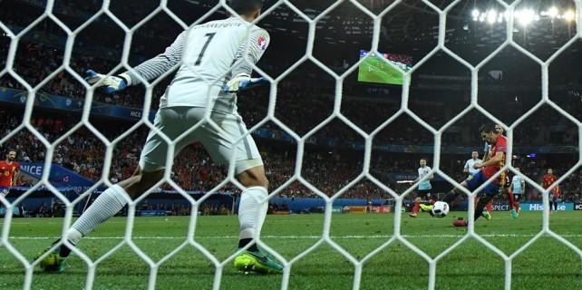 Fransa'da 2 şok gol!