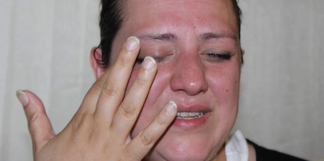 Gözyaşları içindeki gasp oyununu polis bozdu