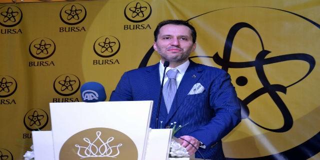 Fatih Erbakan Bursa'dan seslendi