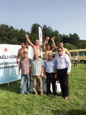 BULGARİSTAN'DAKİ YAĞLI GÜREŞLERE MUDANYA DAMGASI