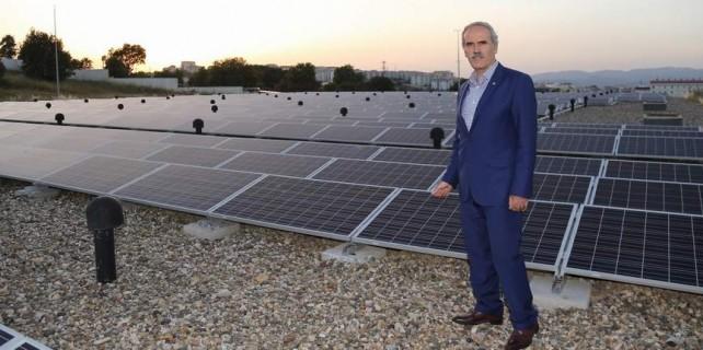 Bursa güneş enerjisiyle aydınlanacak