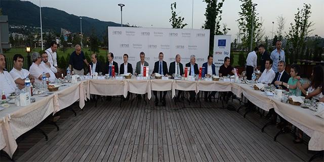 Bursa AB Bilgi Merkezi Bursa medyasını ağırladı