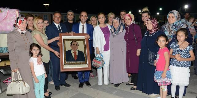 Başkan Edebali'den Yıl-Mek kursiyerlerine destek