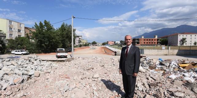 Murat Hüdavendigar Bulvarı tamamlanıyor