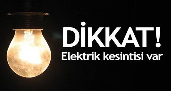 Bursa'nın o ilçesinde 32 saat elektrik kesintisi