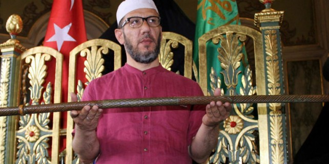 Peygamber Efendimiz'in asası Bursa'da