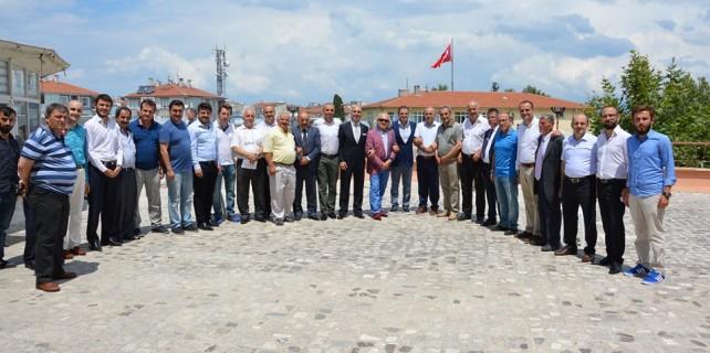 AK Parti Mudanya ailesi bayramlaştı