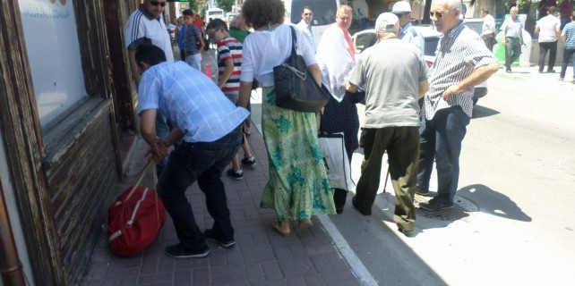 Mudanya'da sıcak saatler...