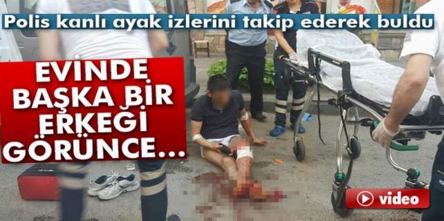 Bursa'da dehşet anları