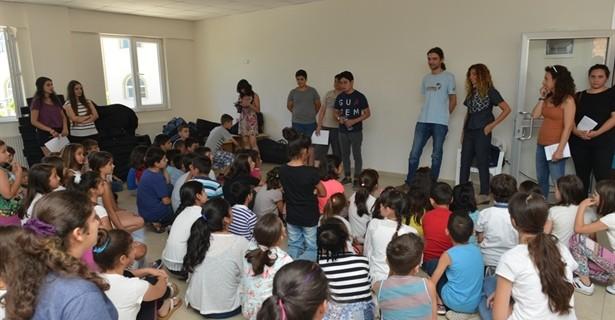 Çocuklar barışın evrensel dilini Nilüfer'den yayacak