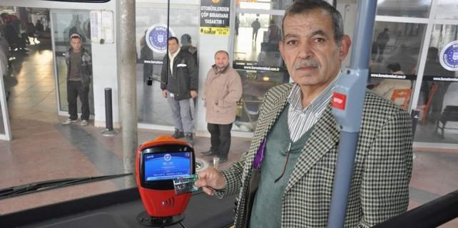 Bursa'da otobüslerde 65 yaş krizi...