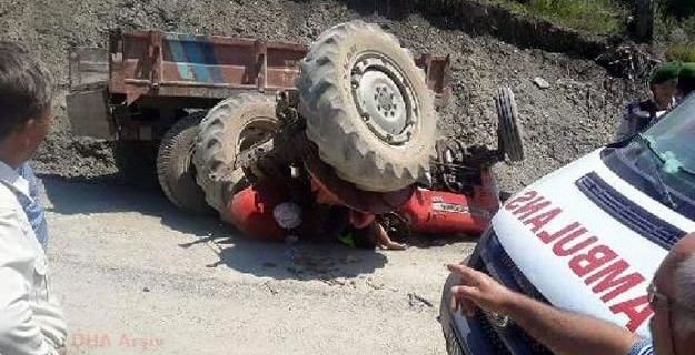 Bursa'da 9 yaşındaki çocuk kaza kurbanı...