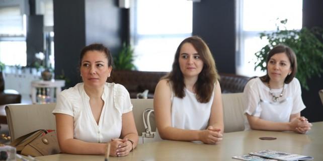 Kadınlara yönelik proje için destek istediler