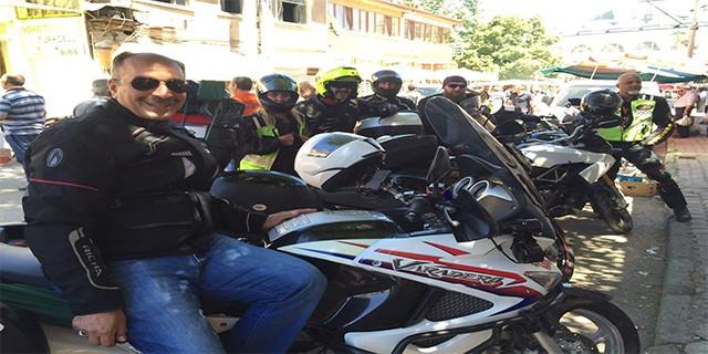 Motorcular Uludağ'da buluştu
