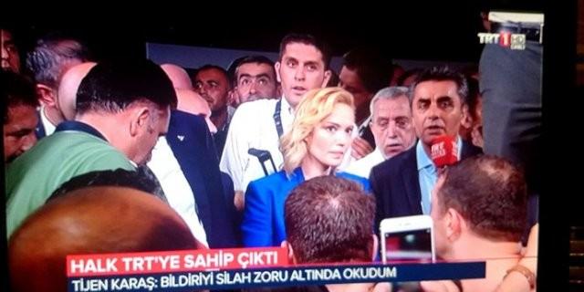 TRT spikeri o anları anlattı...