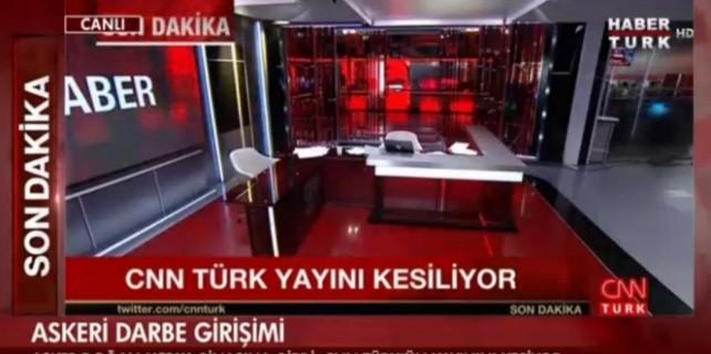 Darbe girişimcileri CNN TÜRK Televizyonunu bastı