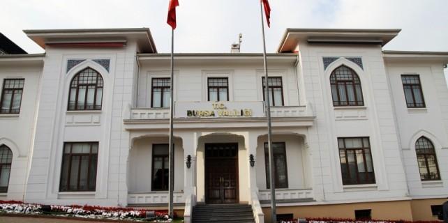 Bursa Valiliği'nde deprem