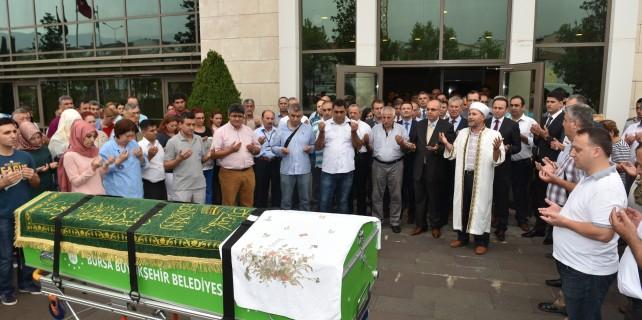 Gazeteci Yunus Hakan Güler son yolculuğuna uğurlandı.