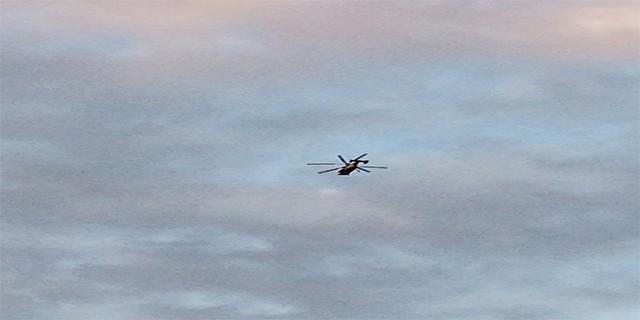 Bursa'da helikopter paniği!