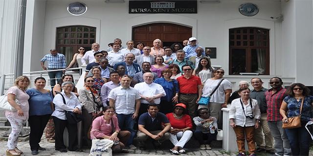 UNESCO büyükelçileri Bursa Kent Müzesi'ne hayran kaldı