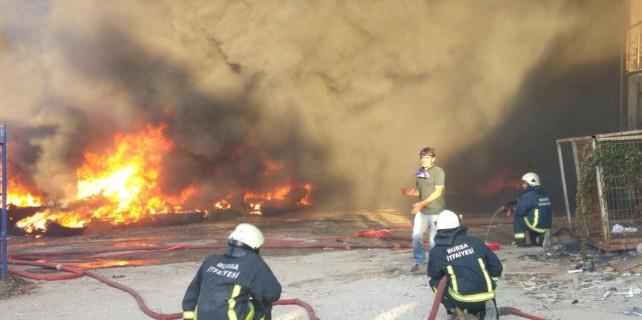 Yangında ikinci patlama...!!