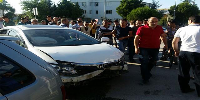 Bursa'da kazalar: 3 yaralı