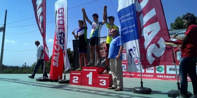 Dağ bisikleti yarışlarına Nilüfer Belediyespor damgası