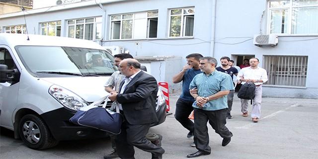 10 FETÖ'cü polis adliyeye sevk edildi