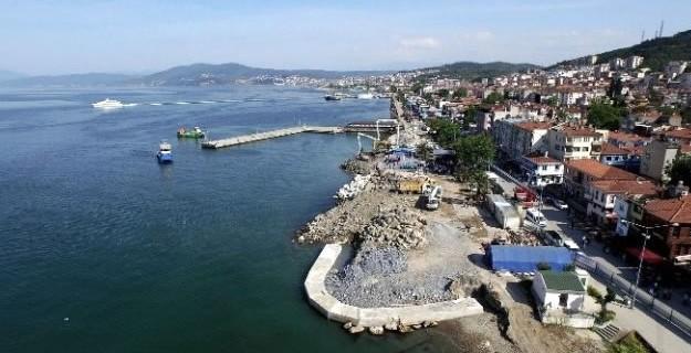 Mudanya'da sahil yıl sonuna bitecek