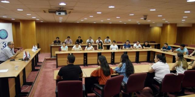 Gürcistanlı tıp öğrencileri Bursa'da