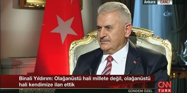 Başbakan Yıldırım: 'Hakan Fidan cevap veremedi'