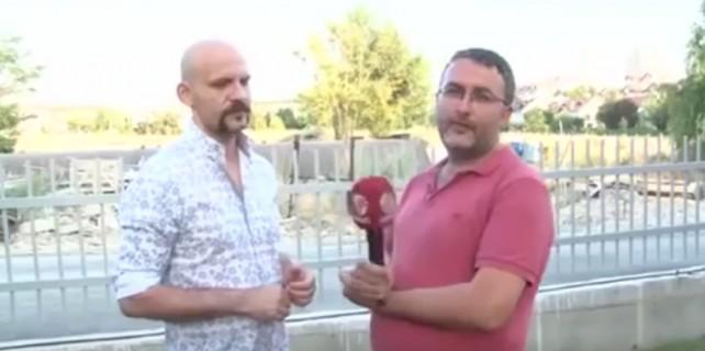 TV muhabiri Atalay Demirci'nin yüzüne tükürdü