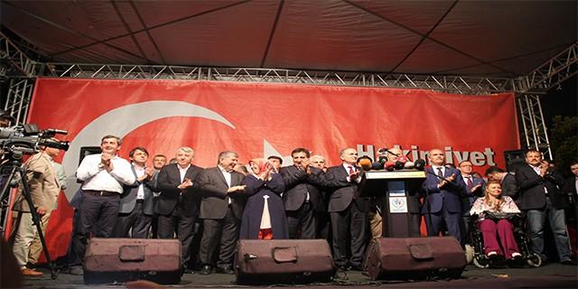Bakan Özlü Bursa'dan seslendi