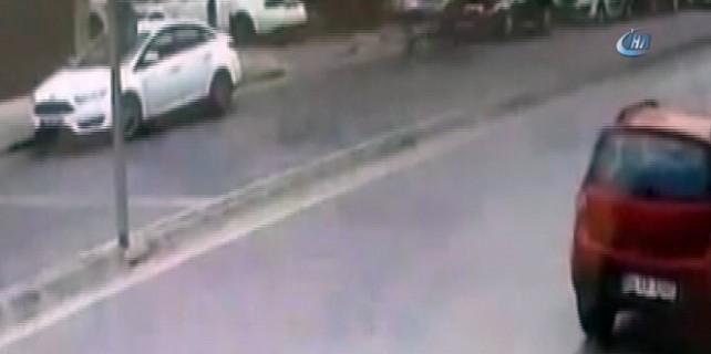 İstanbul'da 2 kişinin öldüğü silahlı çatışma kamerada
