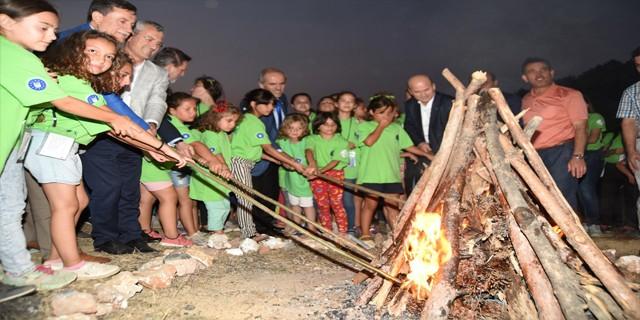 Kamp ateşi Yiğitali'de yandı