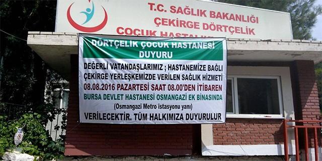 Bursa'da bir devir kapandı