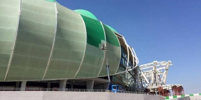 Timsah Arena'ya makyaj