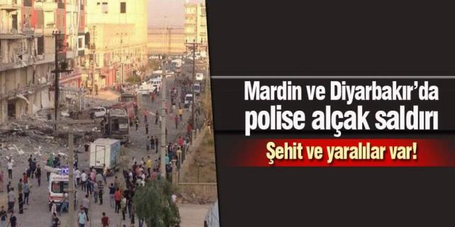 Diyarbakır ve Mardin'de alçakça saldırı