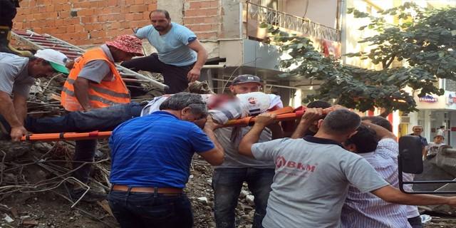 Bursa'da feci iş kazası...