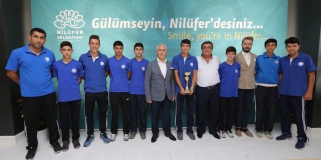 Nilüfer Belediyespor'un kupa avcıları