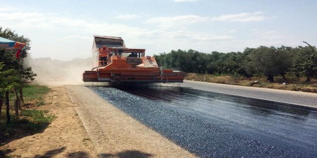 Boyalıca'da asfalt çalışmaları hızla devam ediyor