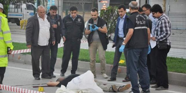 Bursa'da cinayet...