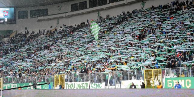 Bursaspor'a kombine şoku