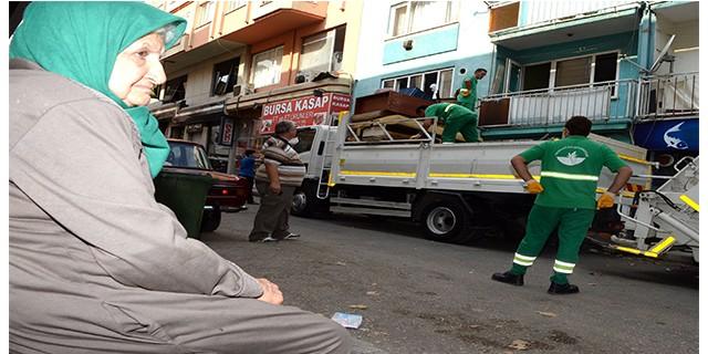 Bursa'da hüzünlü veda