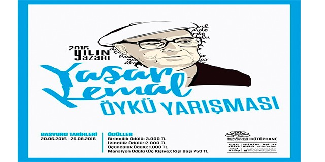 Yaşar Kemal Öykü Yarışması'na başvurular son buluyor